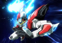 Gundam build fighters try dream and challenge in your heart for Domon gundam build fighters try