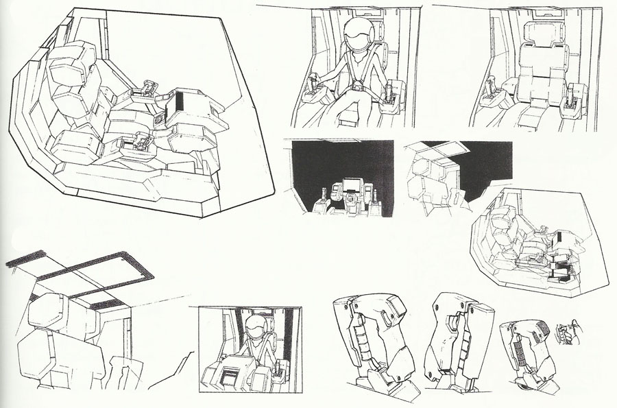 how to draw a cockpit