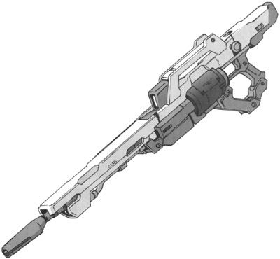 Imperial Guard's Gear Gx-9900-beamrifle